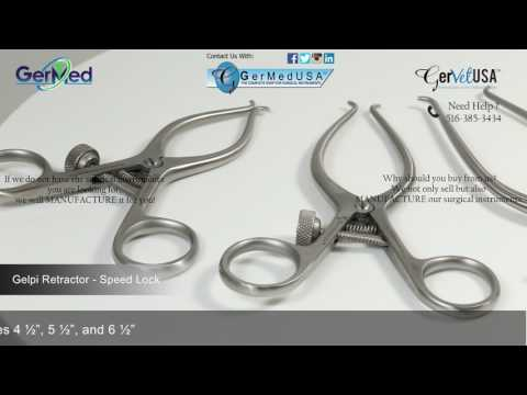 Gelpi Retrator- Speed Lock - Veterinary Surgical Equipment