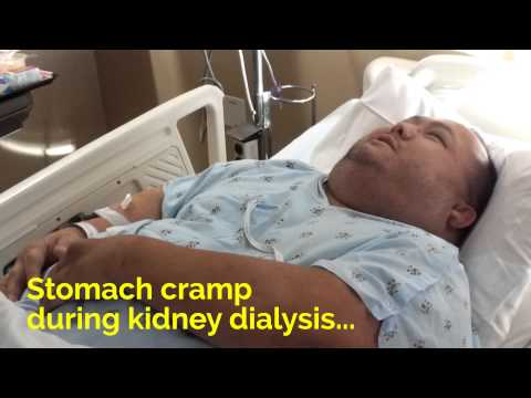 Kidney Dialysis Side Effects - Stomach Cramps, Low Blood Pressure