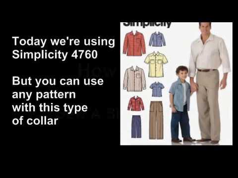 How To Sew A Dress Shirt Collar