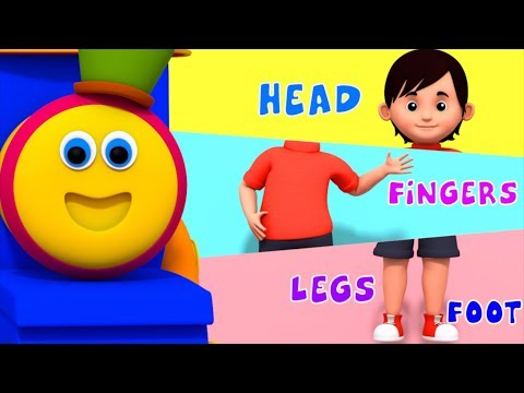 Describing Parts   Learning Street With Bob The Train    Learning Videos For Children by Kids Tv