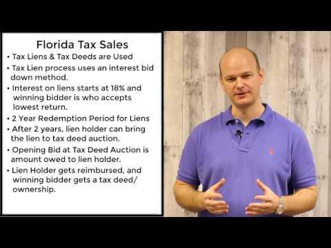 Florida Tax Sales - Tax Liens & Tax Deeds
