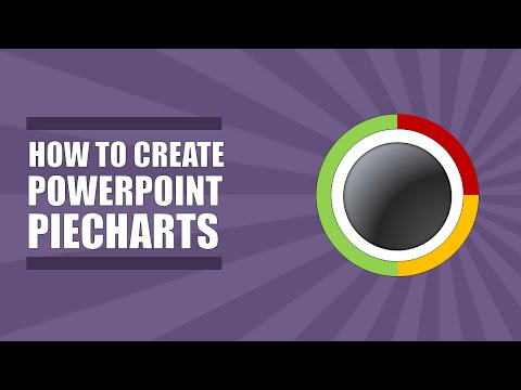 How to Make a Pie Chart with Powerpoint 2010