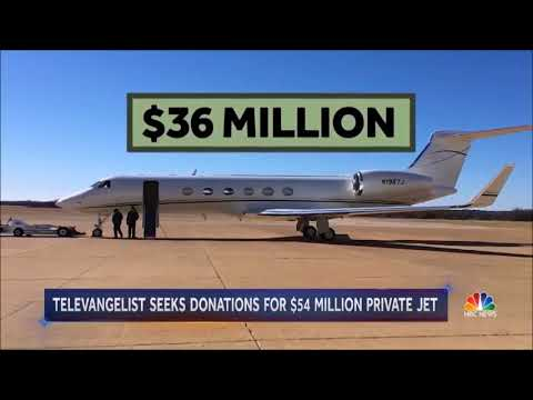 Christian preacher asks followers to help buy fourth private jet