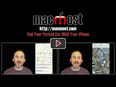 Find Your Parked Car With Your iPhone (#1274)