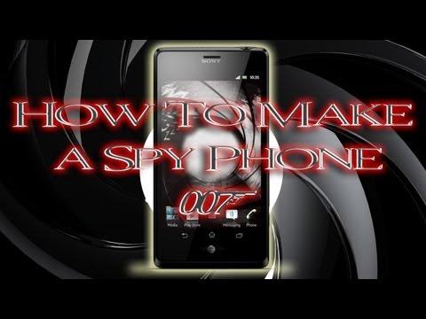 Tinkernut - How To Make A James Bond Spy Phone