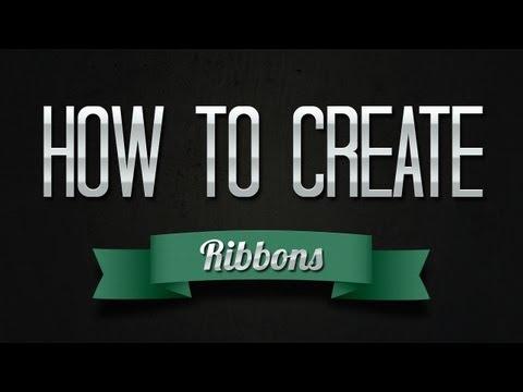 How To Create a Ribbon in Adobe Illustrator CS6 & CC