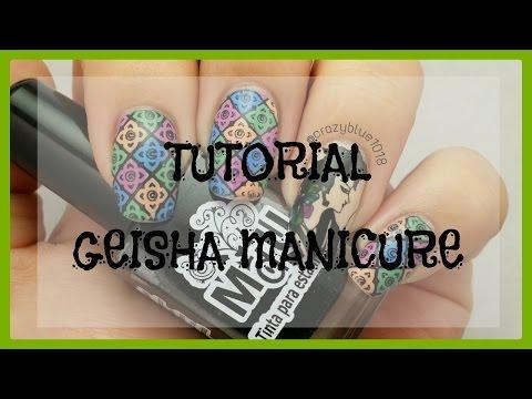 Tutorial | Geisha Manicure