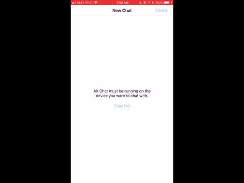 AirChat FREE Bluetooth Messaging! No wifi or signal Needed!