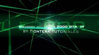GTA IV Seculauncher failed to start application 2000 FIX