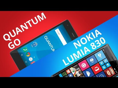 Quantum GO VS Lumia 830 [Comparativo]