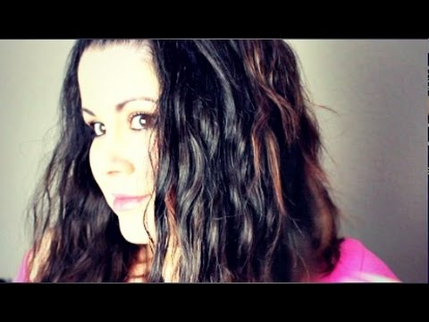 ❤ How to get Beachy Heatless Waves for Spring! #morehairmorestyle ❤
