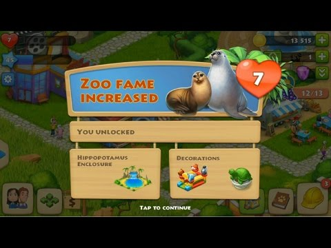 Township Level 45 - Level 7 of the Zoo