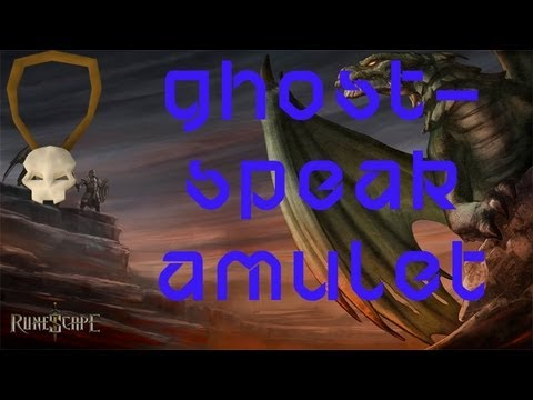 Runescape 2007 + EOC: How to get ghost speak amulet back!