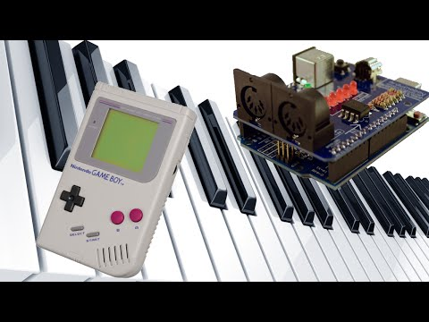 Use your Gameboy as a MIDI instrument
