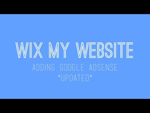 Adding Google Adsense To Your Wix Website - Wix Tutorials For Beginners - Wix My Website