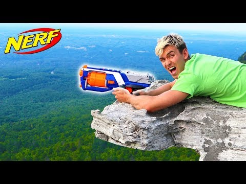 WORLD RECORD NERF SHOT!!