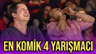 Gülmekten karnınız ağrıyacak 😂😂 Yetenek Sizsiniz Türkiye gelmiş geçmiş en komik 4 yarışmacı