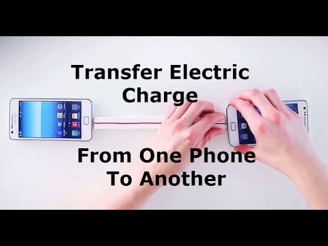 How To Transfer Charge From Phone To Phone