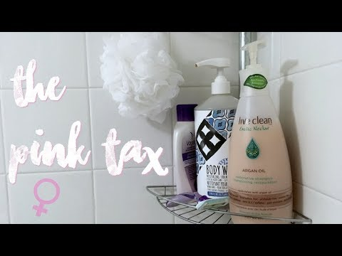 THE PINK TAX - Thoughts on the Cost of Being a Female Consumer - Girl Talk about Money