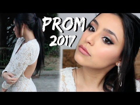 Prom Makeup 2017 | White Dress
