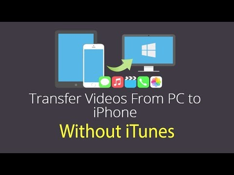 How to Transfer Videos from Computer to iPhone without iTunes