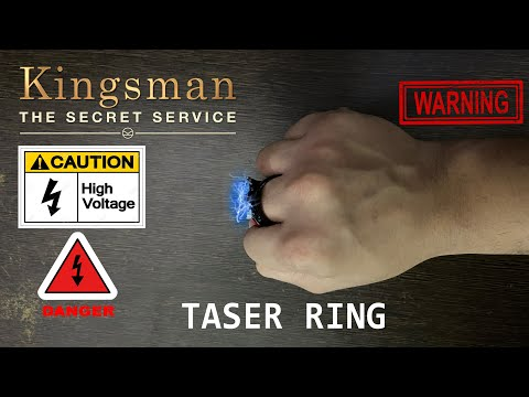 How To Make a TASER RING! - KINGSMAN GADGET!!!