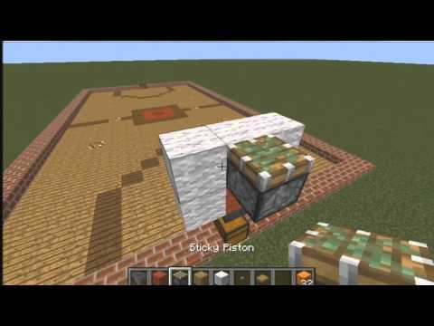 How To Make A Basketball Court In Minecraft (WORKING!!)