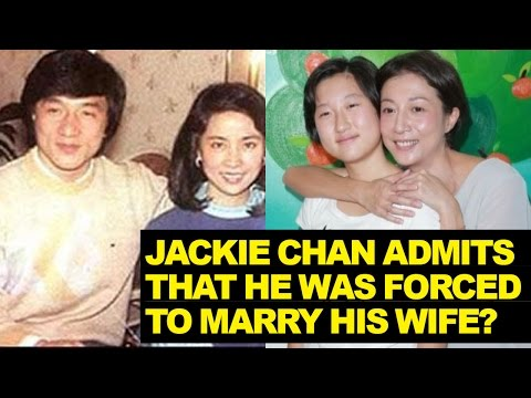 Jackie Chan Admits He Was FORCED To Marry Wife