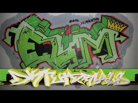 Graffiti tutorial for beginner step by step drawing - ELM