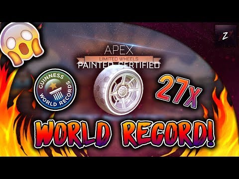 I GOT 27 PAINTED APEXS FROM ONE DROP!! | NEW WORLD RECORD! ($3,000 WORTH OF ITEMS!)