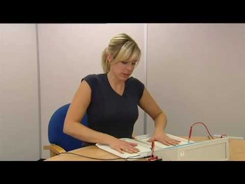 Treating hyperhidrosis of the hands and feet with an Idrostar Pro Pulse iontophoresis machine