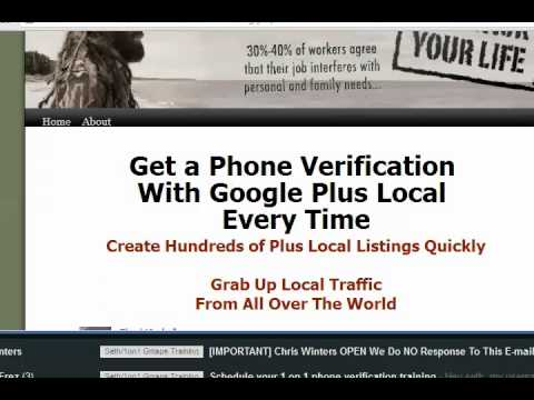 How to Get Phone Verification for Google Maps 2017-Google Plus Local-Places, Google My Business) GMB