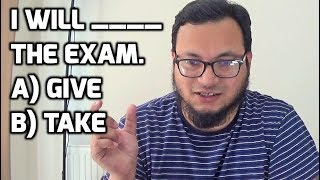 Do you GIVE or TAKE an Exam? 🤔 Learn English Grammar with SYED