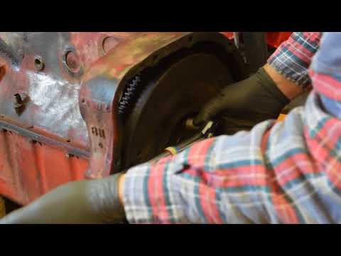 1947 Ford 8N Tractor Rebuild part 10: Flywheel and Clutch