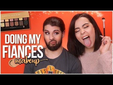 I DO MY FIANCÉS MAKEUP 2018!   MakeupByAmarie