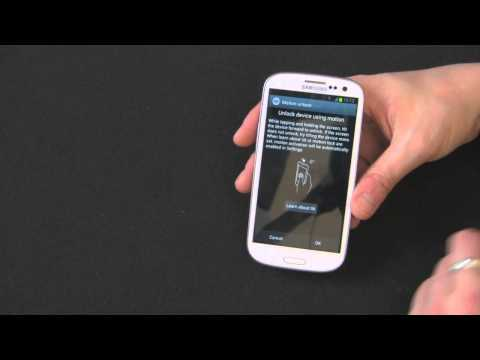 How To Setup A Lock Screen and Security On Your Samsung Galaxy S3 - Tutorial by Gazelle.com