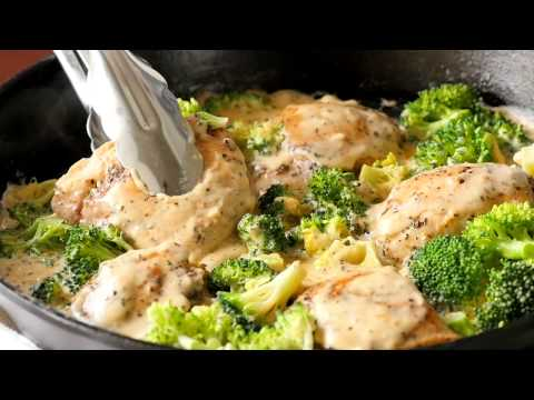 Creamy Chicken Broccoli Skillet