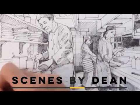 Storyboard & Concept Artist Dean Mortensen