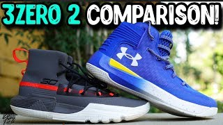 78a7df45130 Under Armour Curry 3Zero 2   Curry 3 Zero Comparison!
