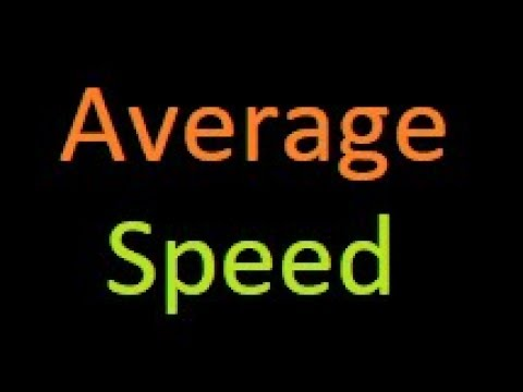 How to calculate Average Speed ? IBPs | Bank PO | SSC