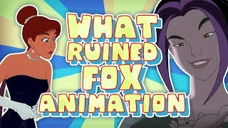 What RUINED Fox Animation Studios?
