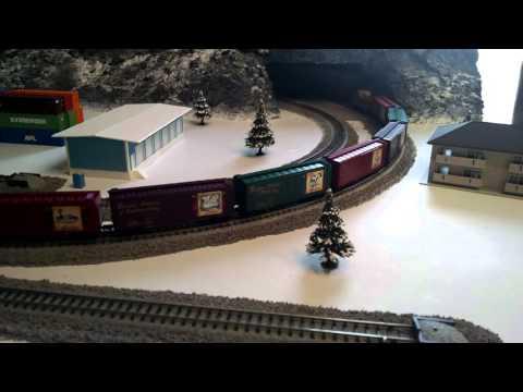 Model Railroad - Micro Trains Twelve Days of Christmas Train
