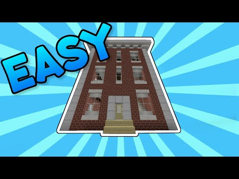 how to build an apartment in minecraft(EASY TO BUILD)👍🚀