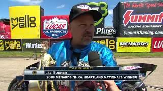 #HeartlandNats: Top Fuel Harley winner Jay Turner