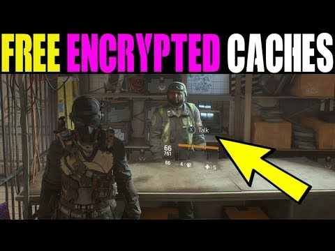 HOW TO GET FREE ENCRYPTED CACHES IN UPDATE 1.8.1 | THE DIVISION FREE CYPHER KEYS