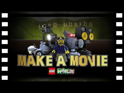 LEGO Worlds – How To Make A Movie!