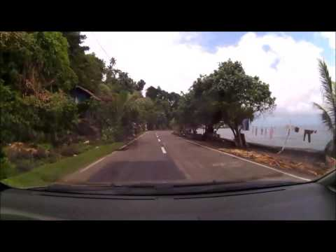 Driving Once Around Camiguin Island Philippines 2017 Part 2