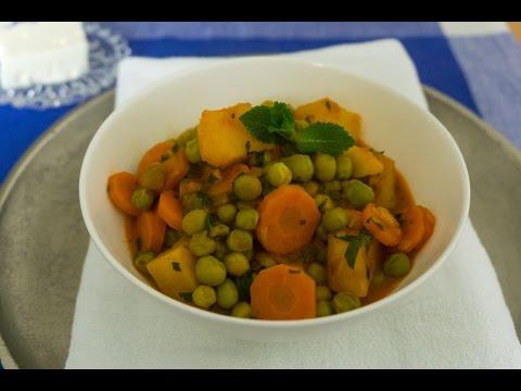 Peas! Greek Vegan pea stew (arakas)