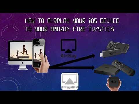 How to Airplay/Mirror Your iOS Device to the Amazon Fire TV/Stick