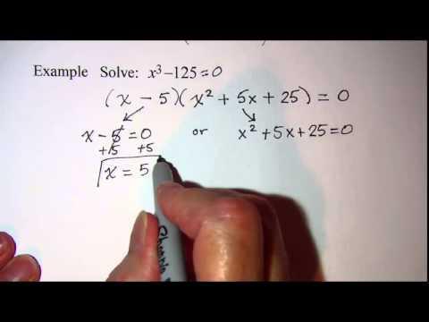 Solving a Cubic Equation